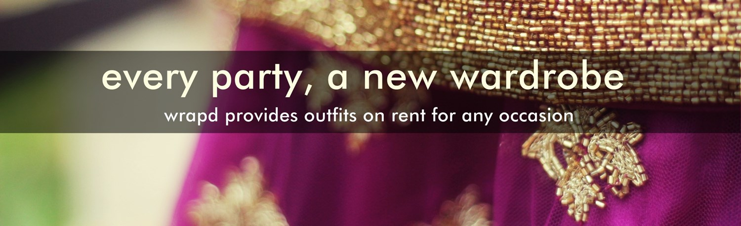 Wedding Dress Party Wear Clothes On Rent In India