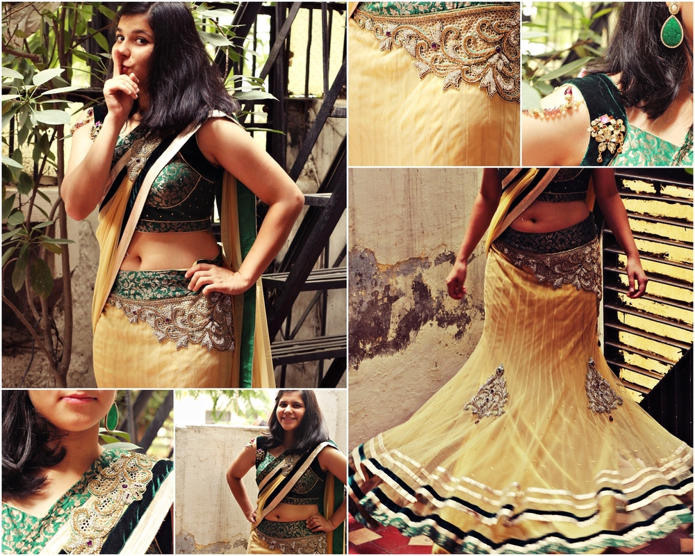 green_gold_saree_lehenga_wrapd