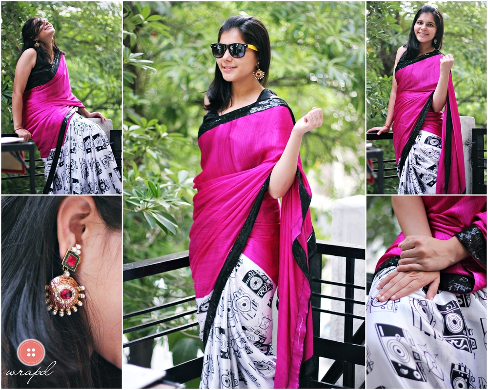 hot_pink_saree_camera_print_wrapd