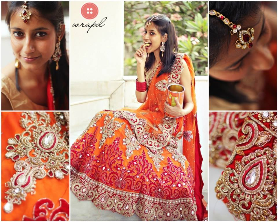 Rent Wedding Clothes In Bangalore Wrapd