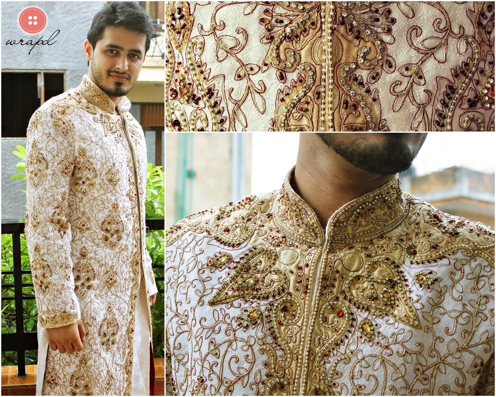 white_sherwani_golden_threadwork